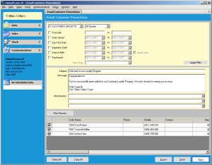 Customer Management integration for Uniwell point of sale systems