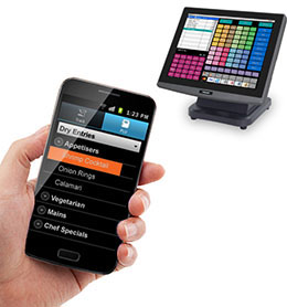 Phoenix handheld order terminals for Uniwell hospitality POS systems