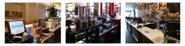 Uniwell point of sale solutions for Melbourne cafes restaurants food retailers